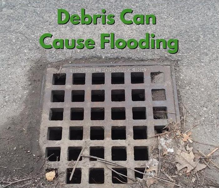 Storm Damage Prevent Local Flooding: Clear Storm Drains