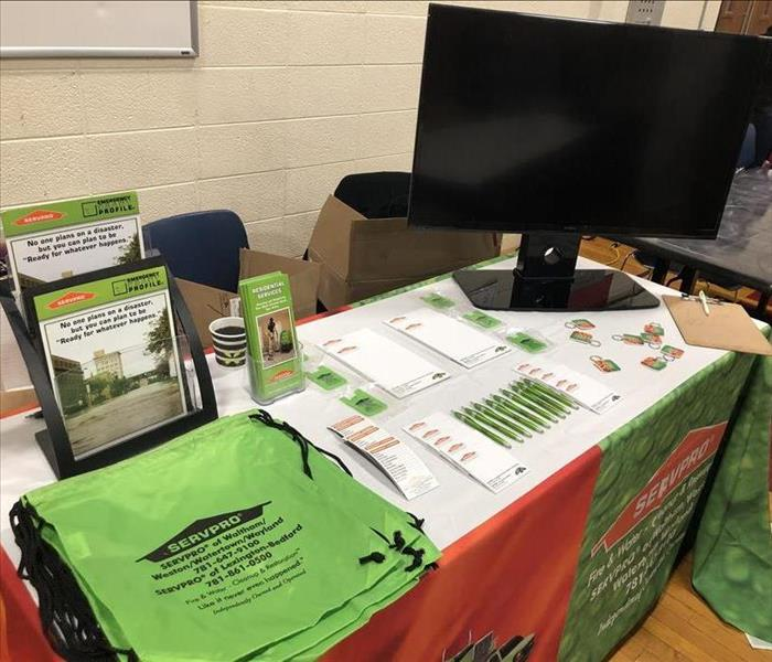 Community SERVPRO in Attendance for Waltham High School Career Fair